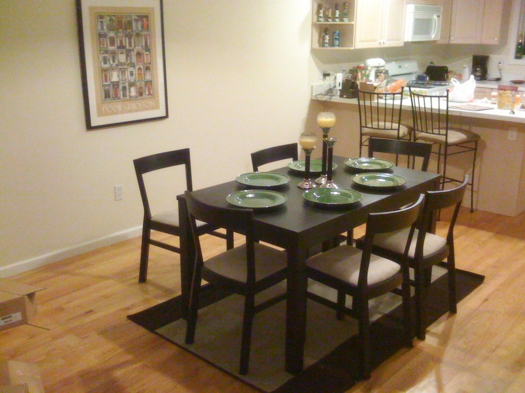 Ikea dining room