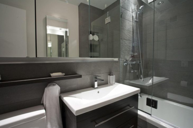 Upscale bathroom vanities