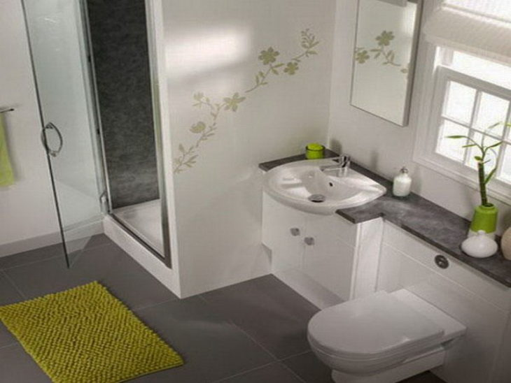 Contemporary small bathrooms